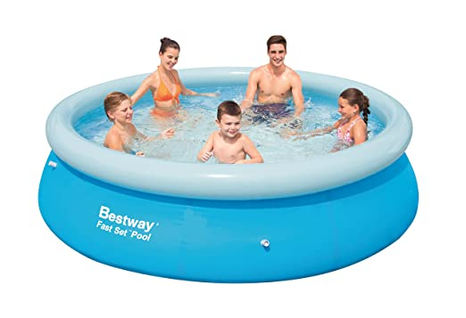 Bestway Fast Set - Piscina Redonda, 305 x 76 cm: Amazon.es ...