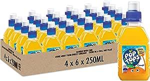 Pop Tops ™ Orange Fruit Juice Drink, 4 x 6 x 250ml (24 bottles total)