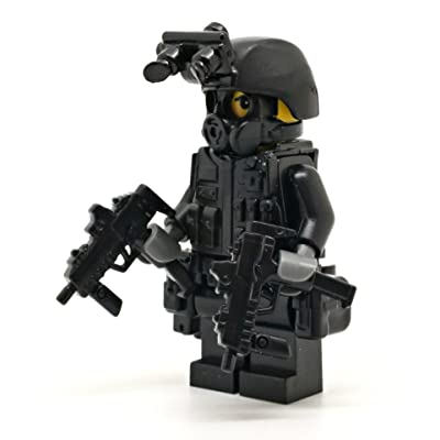 Modern Brick Warfare Special Forces Soldier Duces Custom Minifigure: Toys & Games