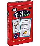 Super Duper Publications   Sensory Diet Flash Cards   Behavior and Body Awareness Fun Deck   Regulate Emotions   Materials for Children