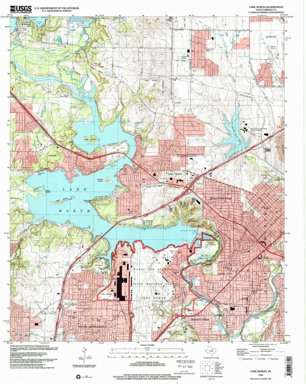 map of lake worth tx Amazon Com Yellowmaps Lake Worth Tx Topo Map 1 24000 Scale 7 5 map of lake worth tx