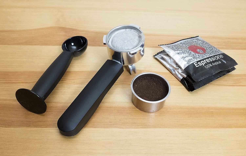 Amazon.com: Espressione EM-1020 Stainless Steel Espresso Machine 1.5 L: Kitchen & Dining