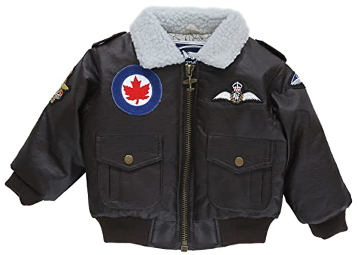 Amazon.com: Up and Away Boys' Royal Canadian Air Force Bomber ...