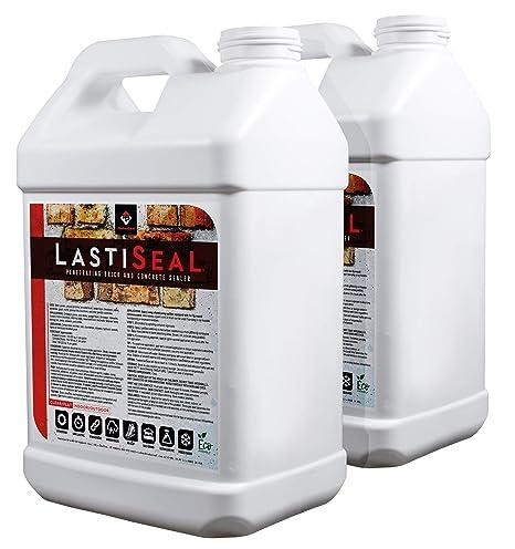 LastiSeal Brick & Concrete Sealer (5-gal)   All Purpose Sealer for Brick,  Concrete, Pavers, Porous Masonry   15-Year Waterproofing Warranty