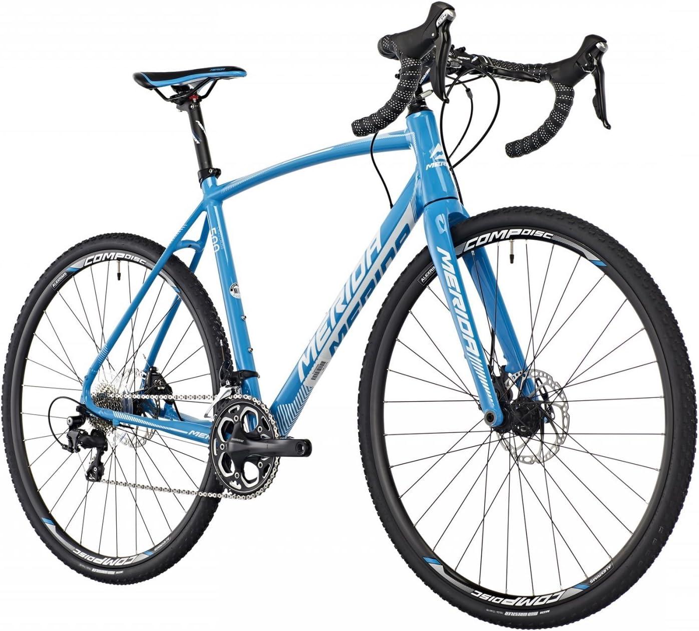 Merida Cyclo Cross 500 Cyclocross Azul (2016), tamaño 52: Amazon.es: Deportes y aire libre