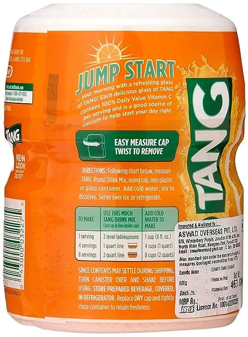 Tang Orange 566g Tub 1 Tub Amazonde Lebensmittel Getränke