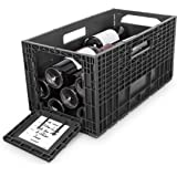 Flexible Wine Storage System for Wine Collectors   Front and Rear Access Door   Stackable Storage Solution   3 Separate Weinb