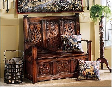 Wondrous Amazon Com Treasure Mahogany Storage Handcarved Museum Theyellowbook Wood Chair Design Ideas Theyellowbookinfo