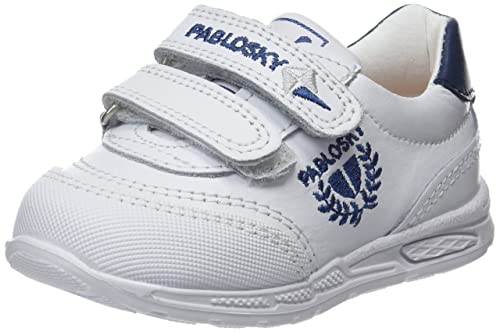 Pablosky 267802, Zapatillas Unisex Niño, Blanco, 34 EU