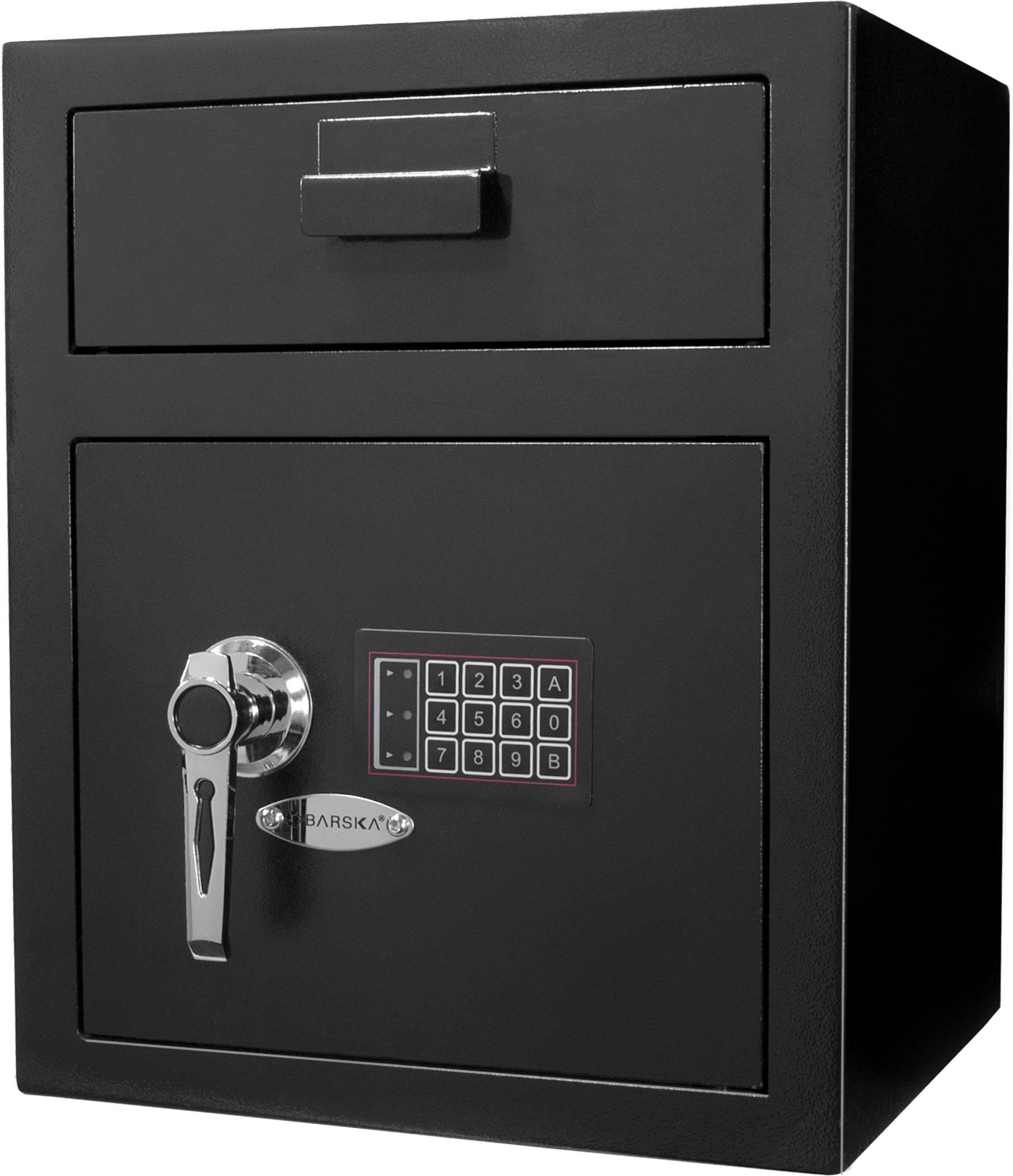 Winbest Metal Digital Keypad Security Lock Depository Drop Slot Parcel Mail Safe (15.33 in x 13.5 in x 19 in) by winbest