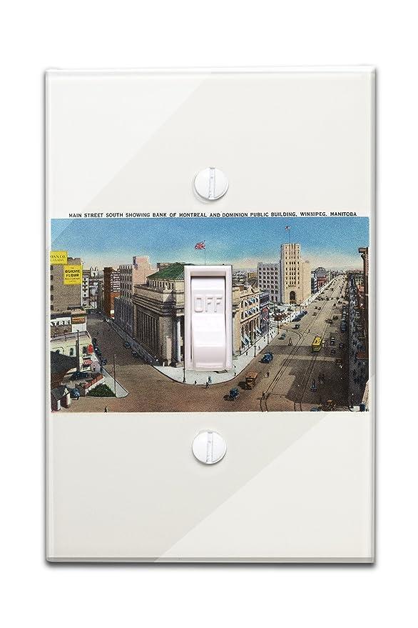 Amazon.de: Winnipeg, Manitoba - Main Street Süden, Bank of Montreal ...