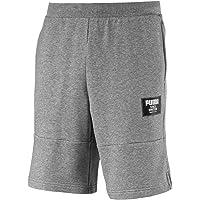 PUMA Men's Rebel Block Shorts, Medium Gray Heather
