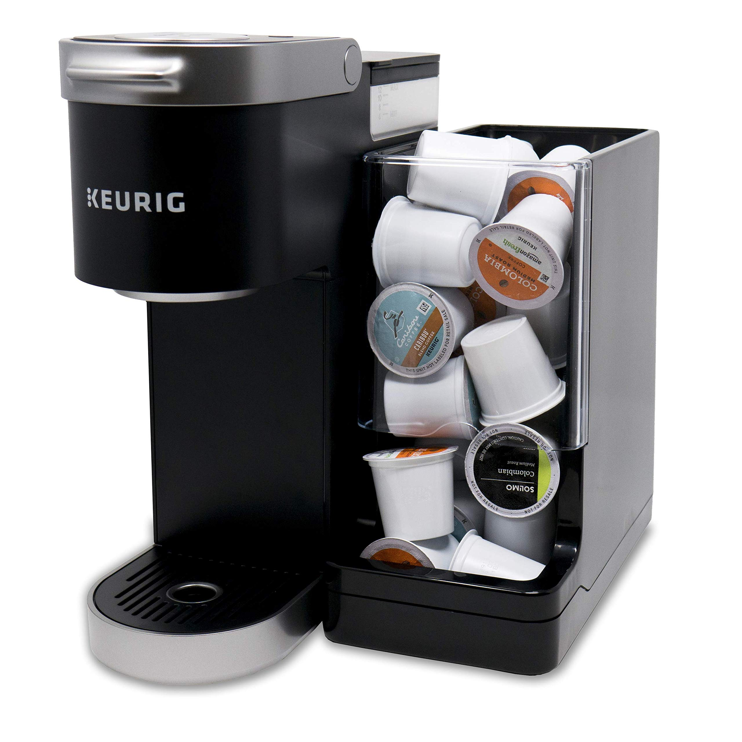 Never Run Out of Coffee - WePlenish Java - Smart Coffee Pod Holder with Amazon Dash Replenishment Built In | Nespresso Capsule and Keurig K-Cup Holder Black by WePlenish (Image #5)
