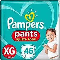 Fralda Pampers Pants Ajuste Total Xg 46 Unidades, Pampers