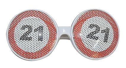 confettery - Disfraz Gafas - 21 Fiesta de cumpleaños con ...