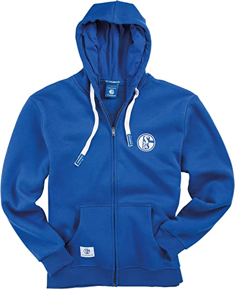 FC Schalke 04 Herren Sweatshirt k/önigsblau