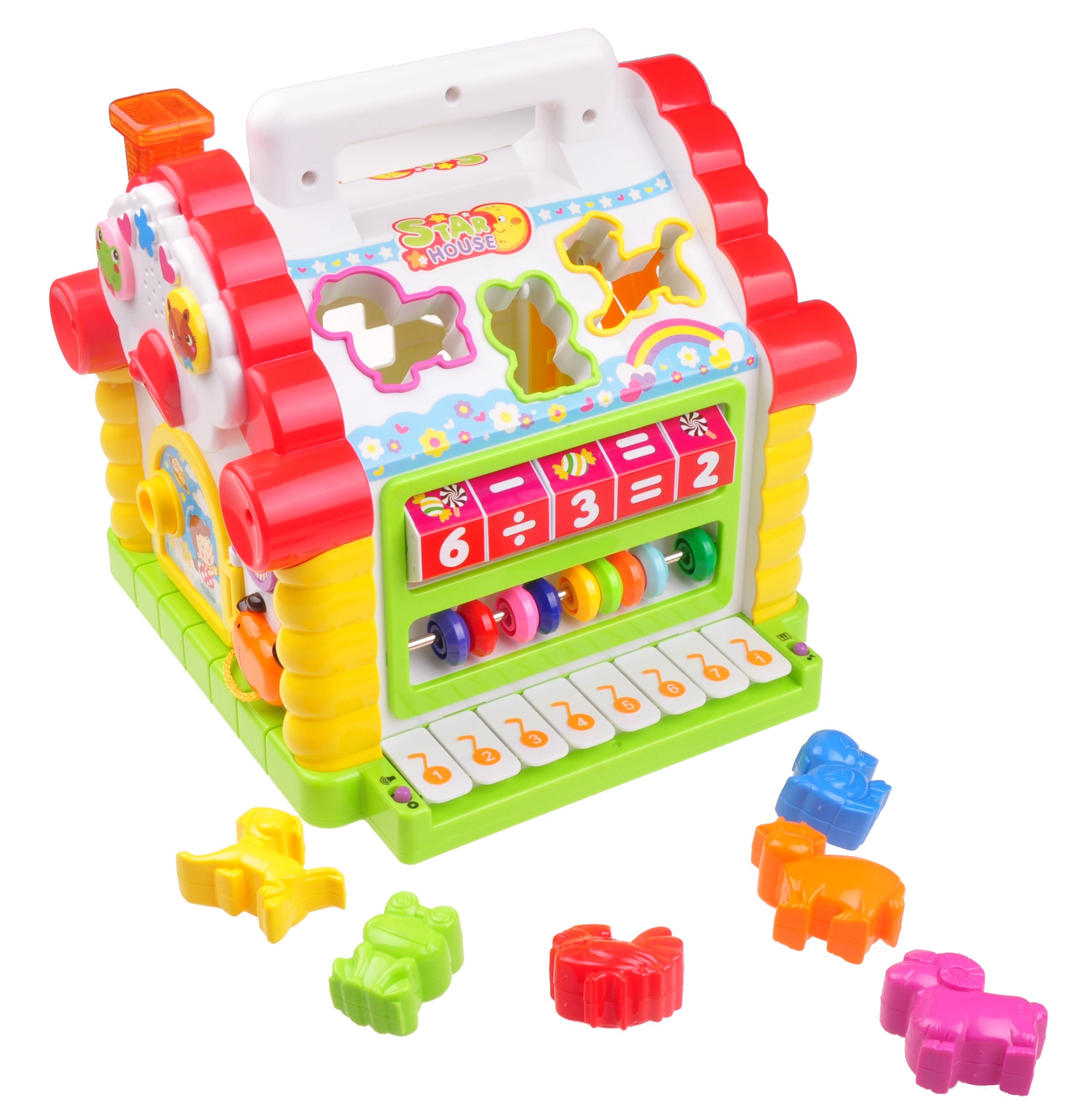 Learning Toys For 2 3 4 5 Year Olds Early Musical House Activity