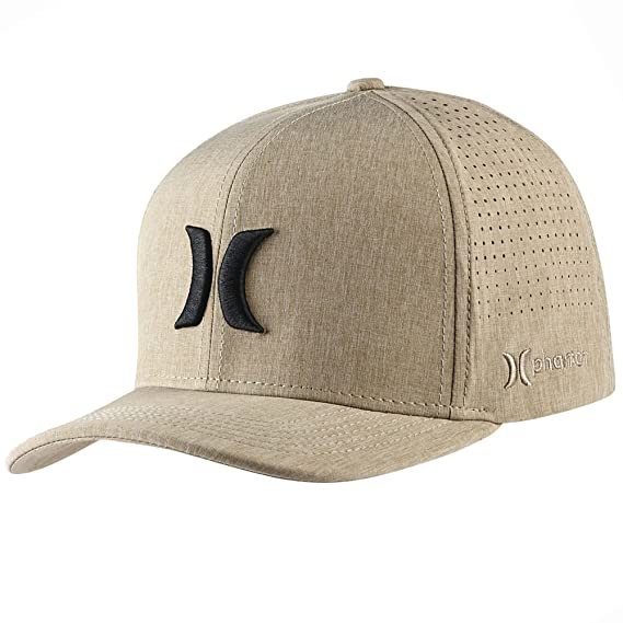 Hurley Men/'s One and Only Flex Fit Stretch Fitted Hat Cap Black