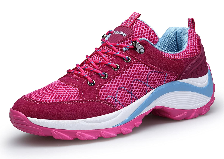 DAFENP entraînement Femme Baskets Mode Course Chaussure Running de Sport de Running Trail Gym entraînement Fitness Course Sneakers Basses Rouge aac1207 - reprogrammed.space