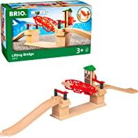 Brio BRI33757 Lifting Bridge, 3 Pieces Train Set,Red