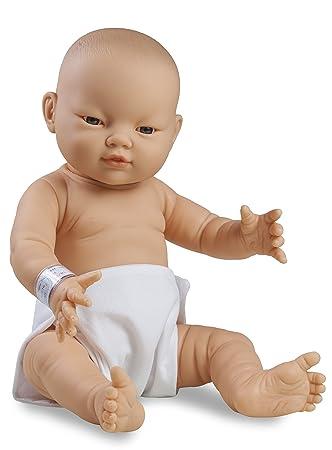 Doll Factory The muñeca factory08.63309 Preemie Asian Girl muñeca con pañales