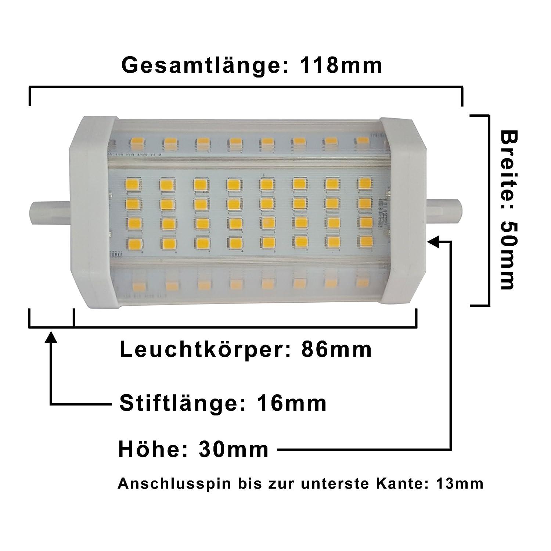 81f4EKBPg-L._SL1500_ Faszinierend R7s Led 118mm Dimmbar Dekorationen
