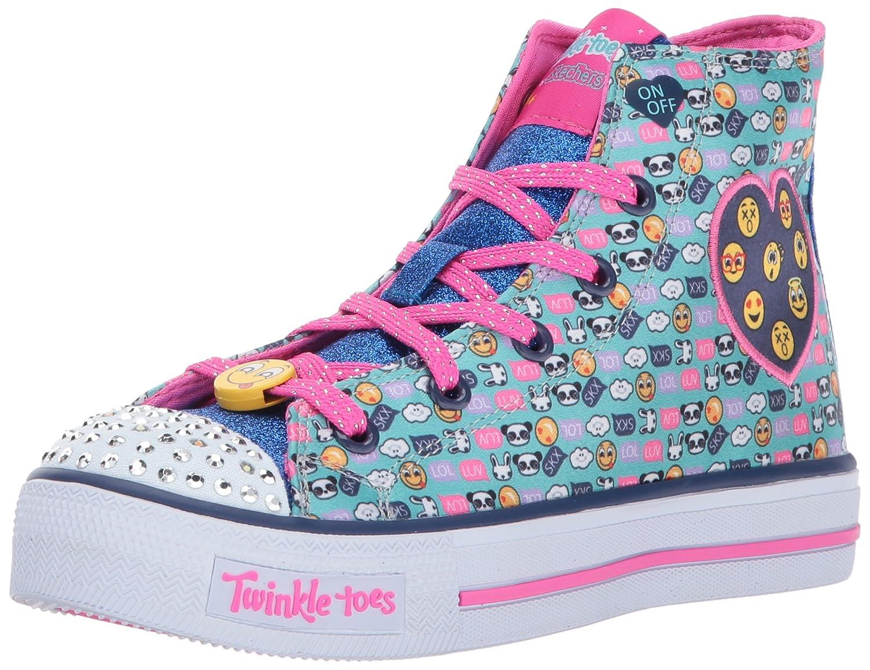 Amazon.com  Skechers Kids Womens Twinkle Toes ¿ Shuffles 10830L Lights  (Little Kid Big Kid)  Shoes 527b41915
