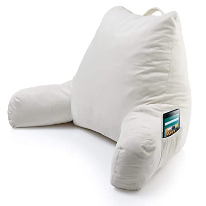 Amazoncom Foam Reading Pillow With Arm Pocket Read Watch Tv In