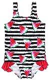 ATTRACO Toddler Girls Ruffle 1 Piece Swimwear