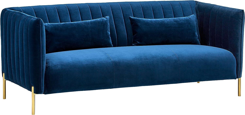 Mid-Century Modern Tufted Sofa