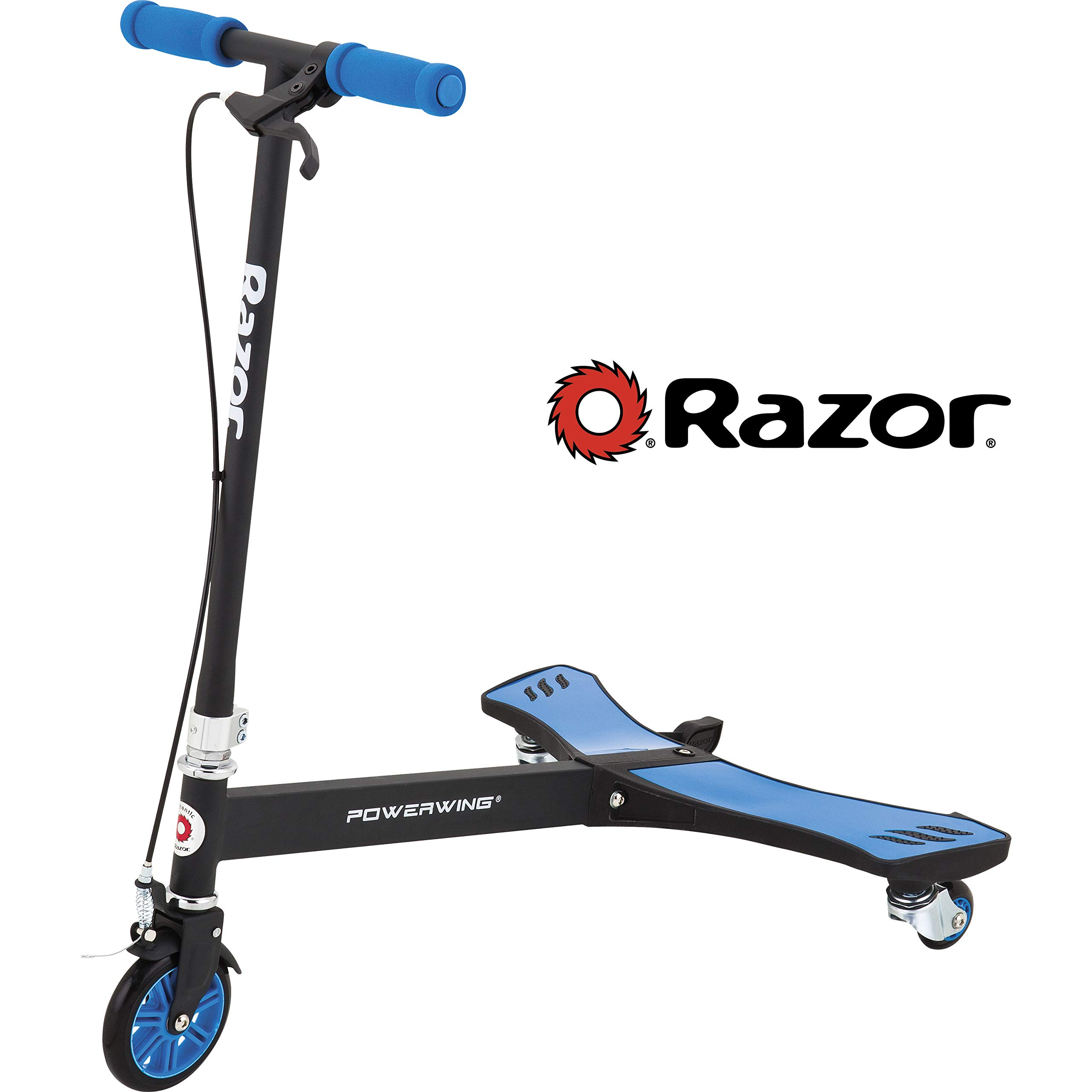 Razor PowerWing Caster Scooter - Blue by Razor