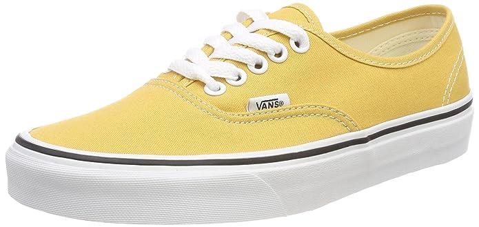 Vans Authentic Sneaker Erwachsene Unisex Gelb Ochre Ocker