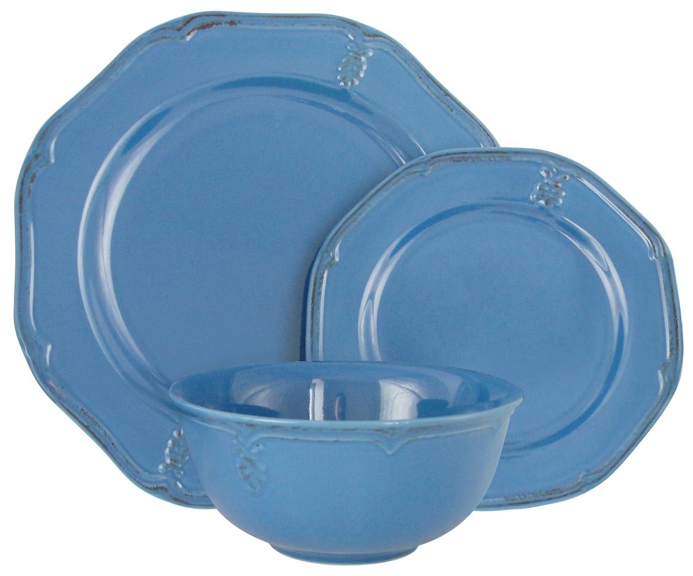 Melange Stoneware - Juego de vajilla (antiguo azul) | Servicio ...