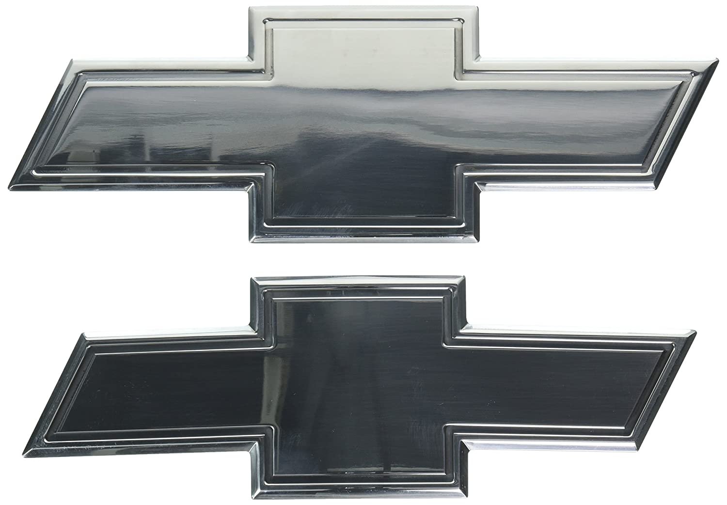 All Sales 96132P Ami Chevy Bowtie Grille and Lift Gate Emblem with Border Chrome