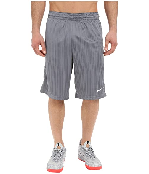 Nike Jordan Men's Layup 2.0 Dri-FIT Basketball Shorts Cool Grey (Large)
