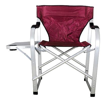 Amazon.com: Elegante silla de camping plegable y resistente ...