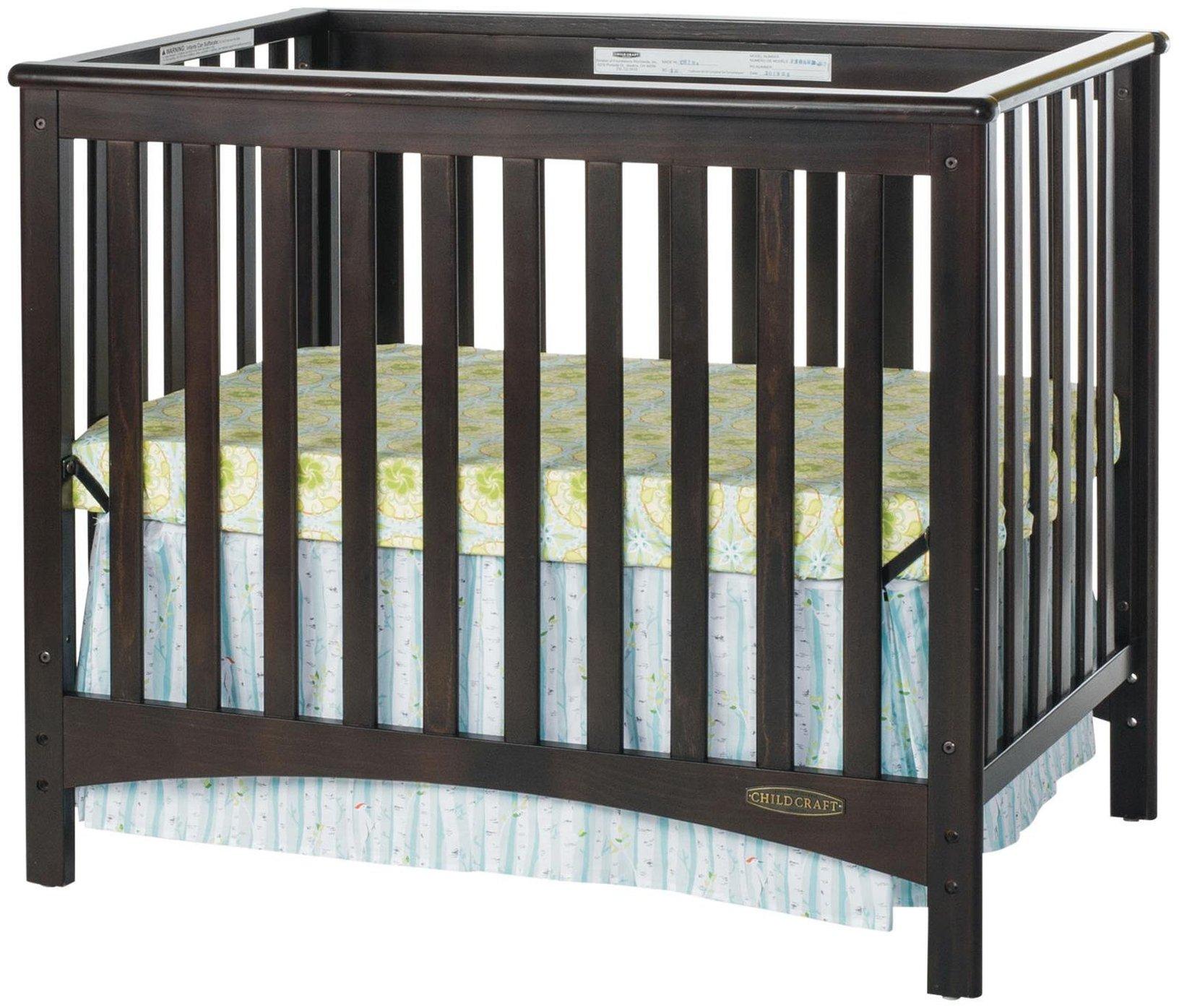 Childcraft London 2-in-1 Convertible Mini Crib