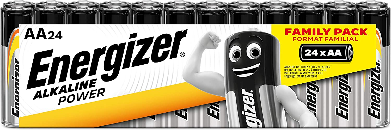 24 piles Energizer en promotion