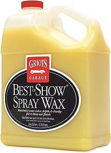 Griot's Garage 10969 Best of Show Spray on Wax Gallon, 1