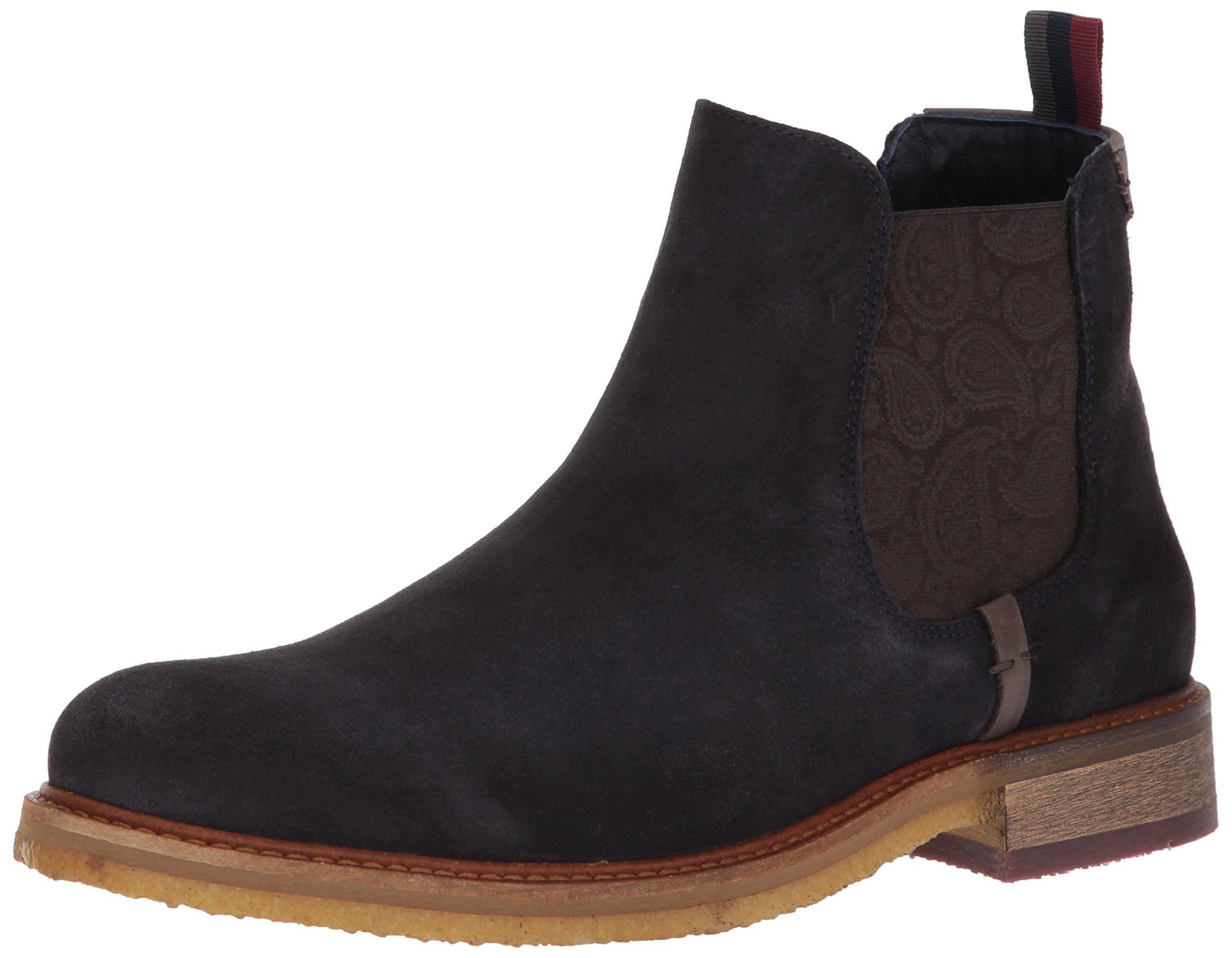 Ted Baker Men's Bronzo Chelsea Boot, Dark Blue, 12 D(M) US