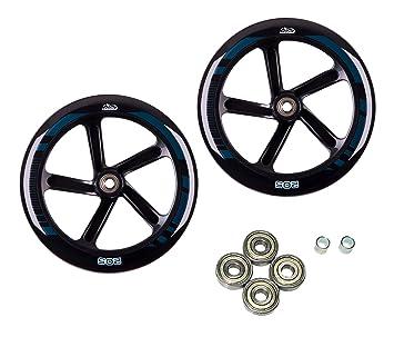 Hudora 14784 Set Rueda de Repuesto para Big Wheel 205 - Ruedas de Repuesto para patinetes: Amazon.es: Juguetes y juegos