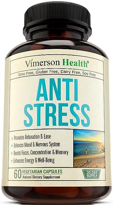 La pastillas el y naturales estres ansiedad para