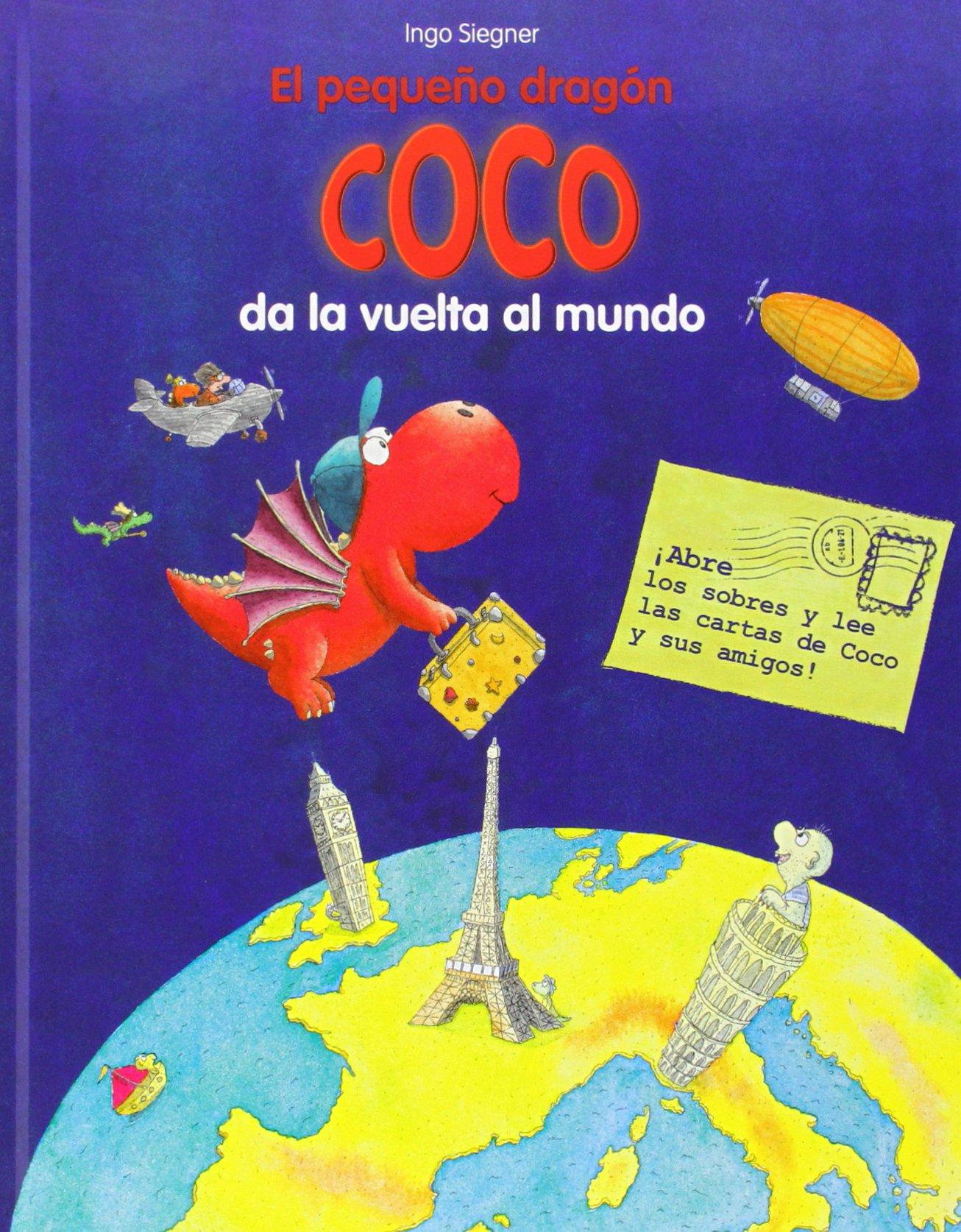 El pequeño dragón Coco da la vuelta al mundo: 9788424653361 ...