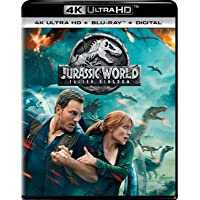 Deals on Jurassic World: Fallen Kingdom 4K Ultra HD + Blu-Ray + Digital HD