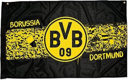 Flag Bvb 09 Borussia Dortmund Room Sudtribune 100 X 150 Cm Amazon Co Uk Garden Outdoors