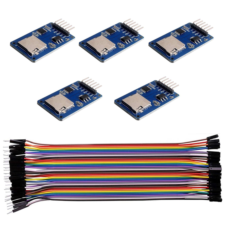DIYMALL - Módulo de tarjetas micro SD para Arduino Raspberry Pi (5 ...