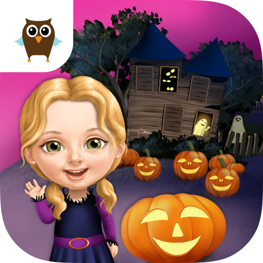 Sweet Baby Girl Halloween Fun - Spooky Makeover & Dress Up Party]()