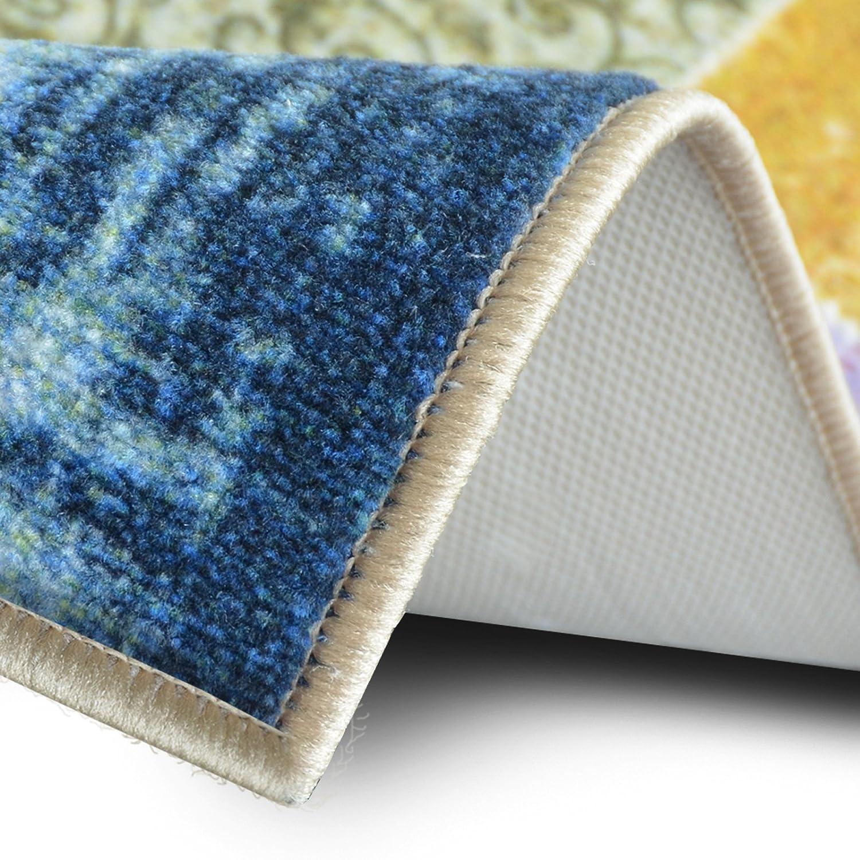 Teppichläufer Laviano     Patchwork Muster im Vintage Look   viele Größen   moderner Teppich Läufer für Flur, Küche, Schlafzimmer   Niederflor Flurläufer, Küchenläufer   Breite 80 cm x Länge 200 cm B071ZMZC 4714fd
