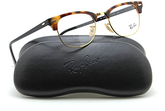 bd20534abe25 Image Unavailable. Image not available for. Color: Ray-Ban RX5154  Clubmaster Optics Prescription Glasses ...