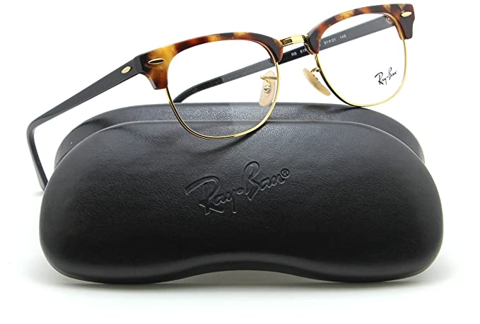 5d7daf92e695 Ray-Ban RX5154 Clubmaster Optics Prescription Glasses 5494 - 51: Amazon.co. uk: Clothing